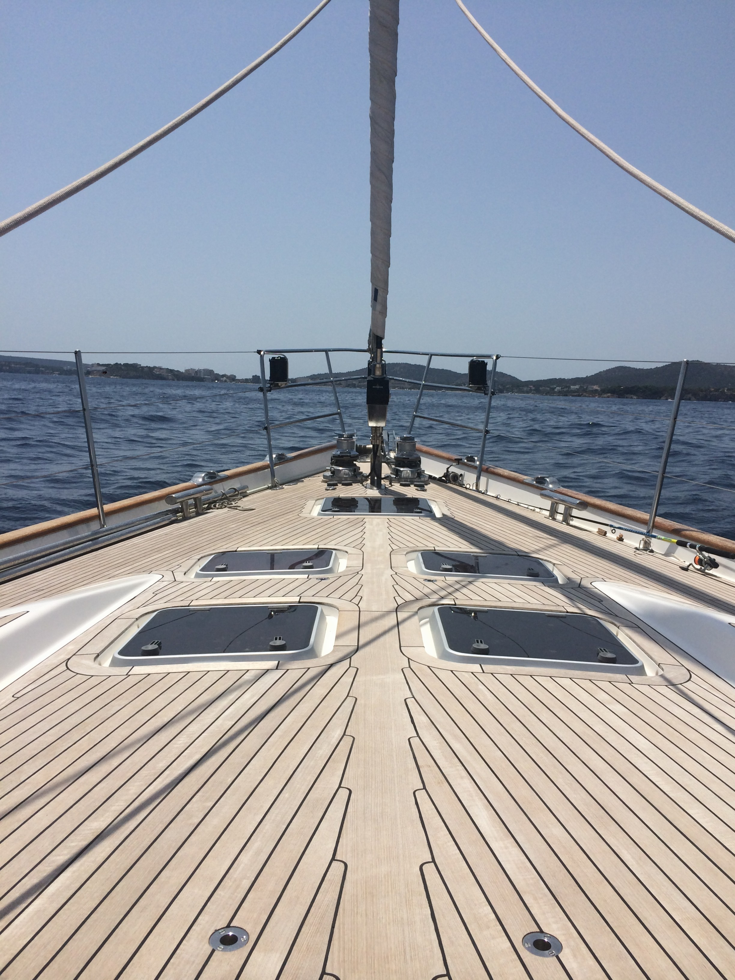 Contact Us to Charter the Bare Necessities Oyster 82 Yacht